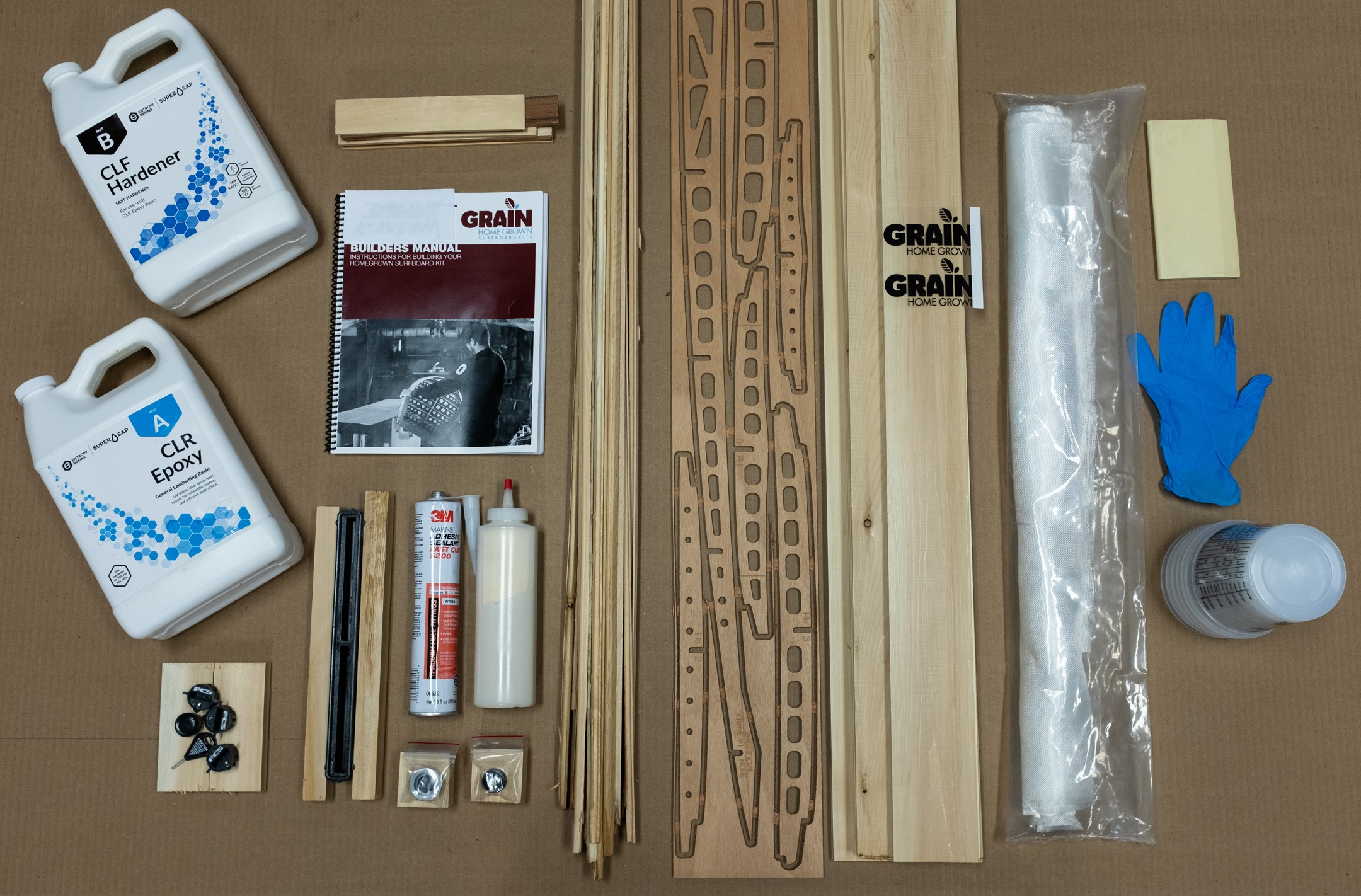 HomeGrown Surfboard Kits
